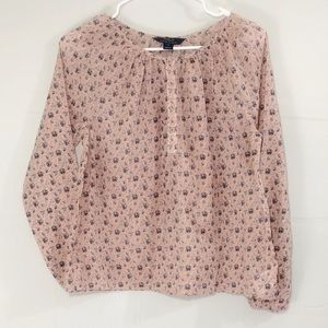 4/$25 Ralph Lauren Polo Floral Girls Top Size 14